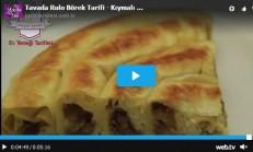 Tavada Rulo Börek Tarifi – Kıymalı Patatesli Çıtır Kol Böreği Videolu