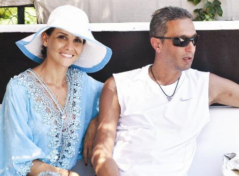 21 Esra Erol ve eşi Ali Özbir