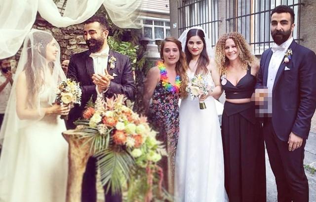 5 Oyuncu Zeynep Çamcı ve eşi Serhat Bayram