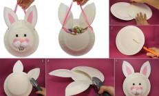 Plastik ve Kağıt Tabaklar İle Değişik Tasarımlar
