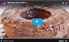 Nutellalı Kek Tarifi – Videolu Anlatım