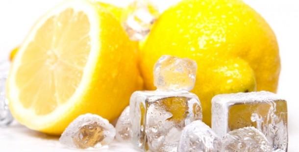 Dondurulmuş Limonun ve Limonun Şaşırtıcı Yararları