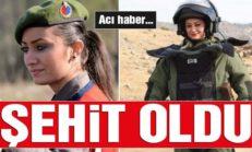 Kadın bomba imha uzmanı Astsubay Esma Çevik şehit oldu