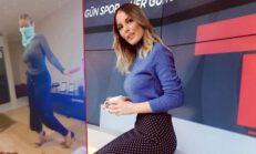 Dans ettiği videoyu paylaştığı için işinden olan spor spikeri Hande Sarıoğlu: Oryantal da yaparım kariyer de