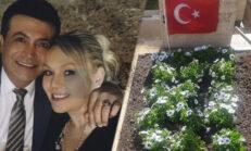 Aylin Yılmaz eşi Oğuz Yılmaz'ın mezarını ziyaret etti: Birbirimize doyamadık