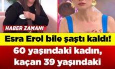 Esra Erol bile şaştı kaldı! 60 yaşındaki kadın, kaçan 39 yaşındaki aşkı için canlı yayında gözyaşlarına boğuldu