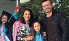 Yeşim Salkım'ın kızı mezun oldu