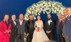 Orhan Gencebay'ın oğlu Gökhan Gencebay ile Seda Han Özmen evlendi