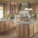 ağaç  oyma dolap sade şık tasarım amerikan mutfak modeli