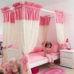 barbie bebek cibinlik çocuk oda