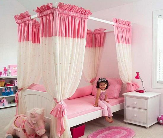 . barbie bebek cibinlik  ocuk oda