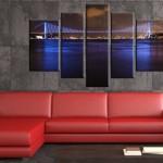 boğaz köprüsü canvas