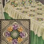 dantel işlemeli renkli yatak örtüleri