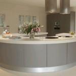 gümüş beyaz açık renk ferah amerikan farklı tarz yeni mutfak modeli
