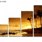 gün batımı canvas