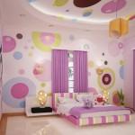mor lila genç odası