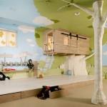 orman çocuk oda tasarımı