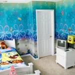 su altı duvar kağıdı çocuk odası