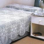yatak örtüsü dante tığ işi modelleri örnekleri