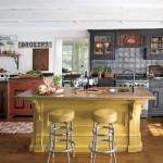 zengin renkli el kesme dokulu el işi orjinal amerikan mutfak